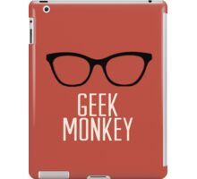 geek monkey iPad Case/Skin