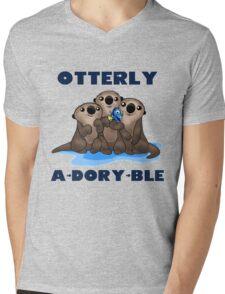 Otterly A-Dory-Ble! Mens V-Neck T-Shirt