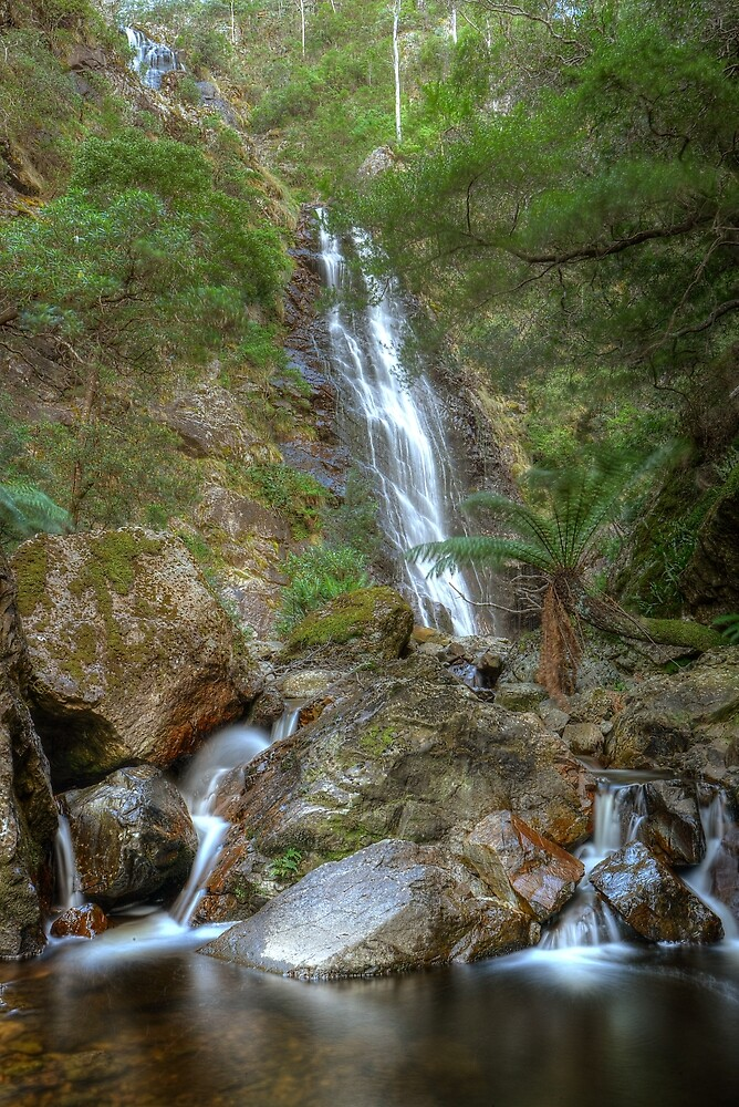 Mathinna Falls, tiers 1 and 2 by Kevin McGennan