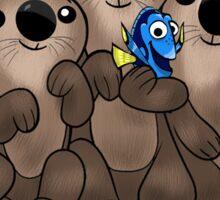 Otterly A-Dory-Ble! Sticker