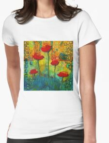 Flowers for My Son - March 2016 Womens Fitted T-Shirt