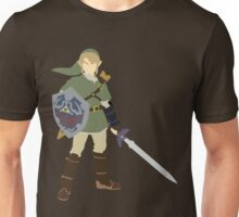 The Legend of Zelda link (Twilight Princess) vector Unisex T-Shirt