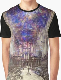 Someone's Playing the Organ, King's College Chapel Graphic T-Shirt
