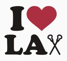 I love Lacrosse Lax by Designzz
