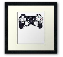 Gamer Controller Framed Print