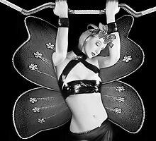 My Butterfly Wings - Self Portrait by Jaeda DeWalt
