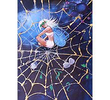 Join me in Tea, said the spider Photographic Print