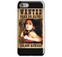 Buffy Faith Wanted Eliza Dushku 3 iPhone Case/Skin