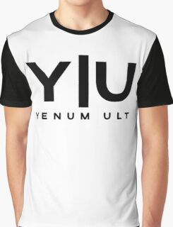 Yenum Ult Black Alternative Graphic T-Shirt