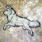 White Wolf Rock by WindWolf