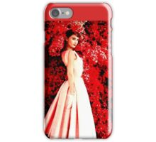 Audrey Hepburn, 1953 iPhone Case/Skin