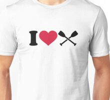 I love Paddling Unisex T-Shirt