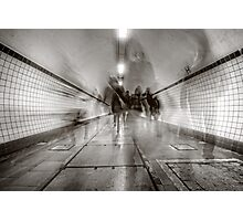 City Rush Photographic Print