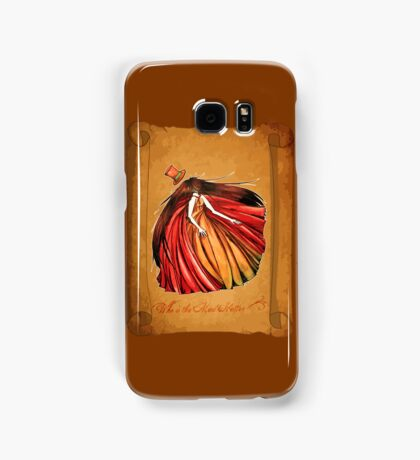Who is the Mad Hatter ? Red Riding Hood Samsung Galaxy Case/Skin