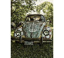hippy camoflage Photographic Print