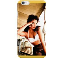 Elizabeth Taylor, 1956 iPhone Case/Skin