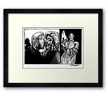Robert Byrd Hillary Clinton Framed Print