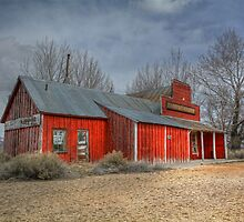 The Old Corral Store by Jennifer Hulbert-Hortman