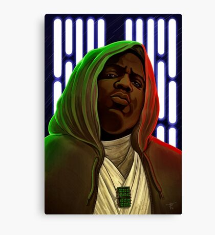 Jedis move in silence and violence Canvas Print
