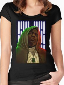 Jedis move in silence and violence Women's Fitted Scoop T-Shirt