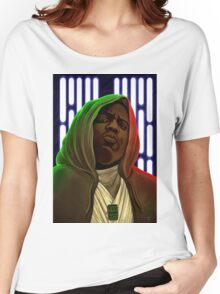 Jedis move in silence and violence Women's Relaxed Fit T-Shirt