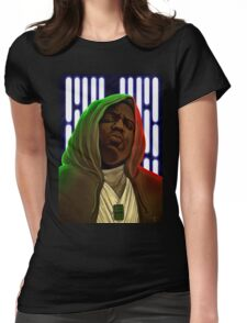 Jedis move in silence and violence Womens Fitted T-Shirt