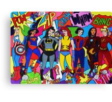 Super Princesses  Canvas Print