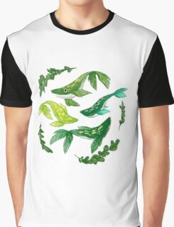 PLANT Whale Graphic T-Shirt