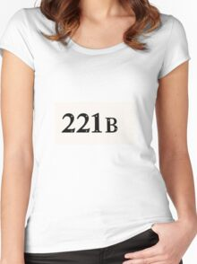 221b tshirt Women's Fitted Scoop T-Shirt