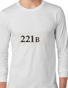221b tshirt Long Sleeve T-Shirt