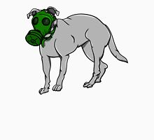 Dog Wearing A Gas Mask Unisex T-Shirt