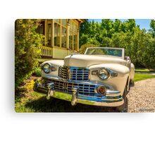 1948 Lincoln convertible  Canvas Print