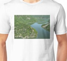 More Than Fifty Shades Of Green - Summer Lake in the Mountains Unisex T-Shirt