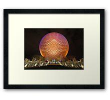 Epcot Ball  Framed Print