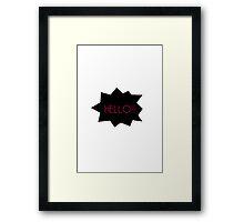 Hello :) Framed Print