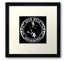 Dick Dale (King of the surf guitar) Framed Print