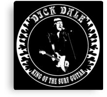 Dick Dale (King of the surf guitar) Canvas Print