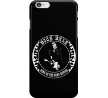 Dick Dale (King of the surf guitar) iPhone Case/Skin