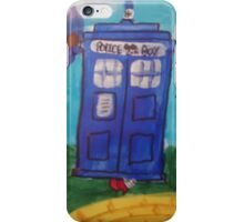 Doctor Who Wizard Of Oz Mix iPhone Case/Skin