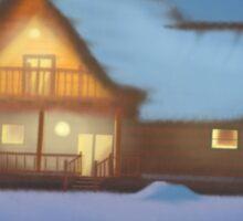 Inn in the Frost Sticker