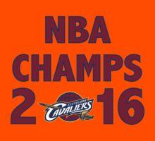 Cleveland Cavaliers 2016 NBA Champions vs. Golden State Warriors Kids Tee