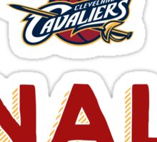 Finally Cleveland Cavaliers 2016 NBA Champions Sticker