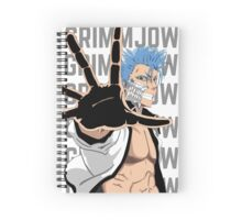 Grimmjow Jeagerjaques Spiral Notebook