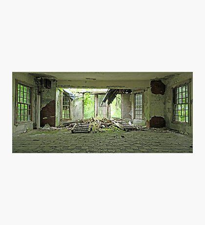 Collapsed Window Photographic Print