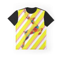 NEON DEER Graphic T-Shirt