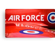 RAF Red Arrows Canvas Print