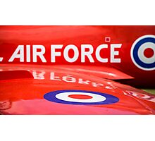 RAF Red Arrows Photographic Print