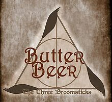 Fictional Brew - Butterbeer by Amanda Mayer