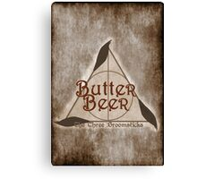 Fictional Brew - Butterbeer Canvas Print