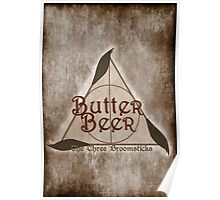Fictional Brew - Butterbeer Poster
